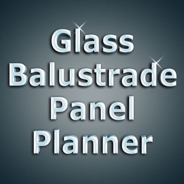 Online order tool for Glass panlels for stairs