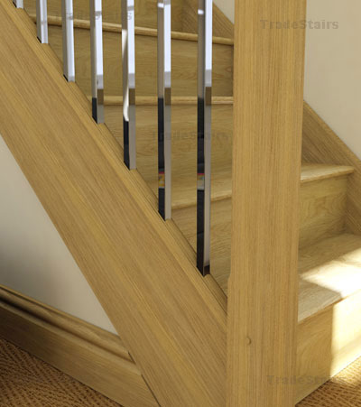 Axxys squared metal balusters