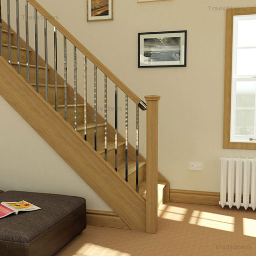 Axxys squared stair railing system