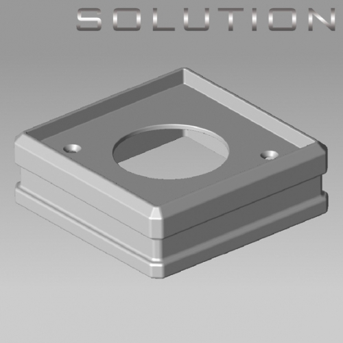 solution stairparts newel connector